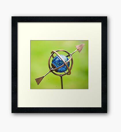 Cupid's Arrow in my World of Love Framed Print