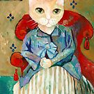 Madame Cézanne as a Cat by Ryan Conners
