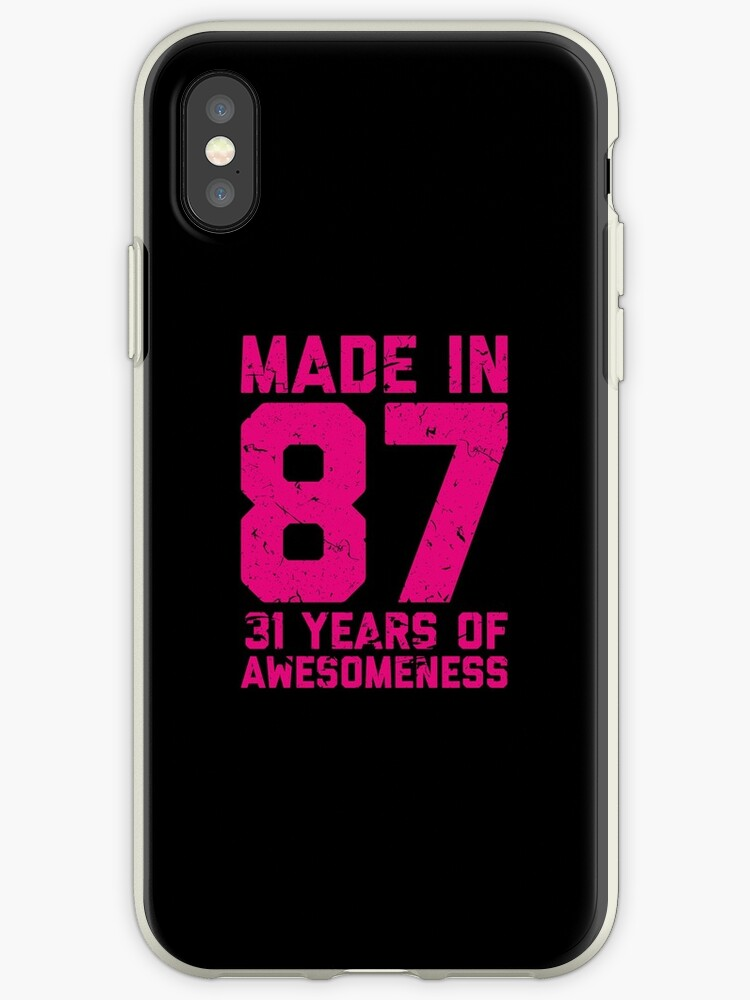 31st Birthday Gift Adult Age 31 Year Old Women Womens