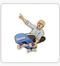 Skateboard Bernie Sanders Sticker