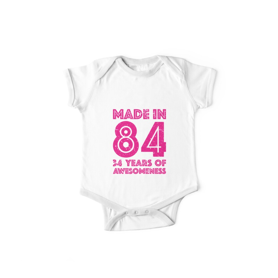34th Birthday Gift Adult Age 34 Year Old Women Womens By Matt L