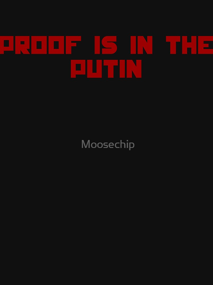 Beweis ist im Putin von Moosechip