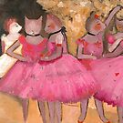 Cat Dancers in Pink by Ryan Conners