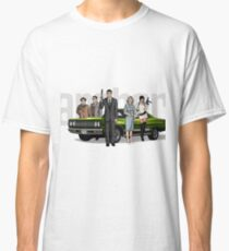 Archer Sterling with the car and the whole company Classic T-Shirt