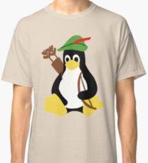 Robin Tux - Arch Linux Penguin Classic T-Shirt