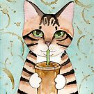 Willow With Iced Latte by Ryan Conners