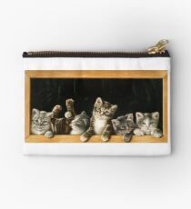 Cats in the frame Studio Pouch