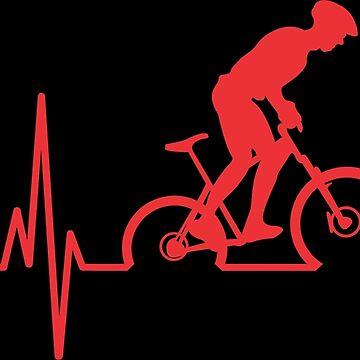 Mountain Bike Heartbeat by goodspy