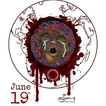 June 19th World Sickle Cell Day - Awareness Art by Hertz Nazaire by nazaire