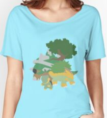 Turtwig Evolution Women's Relaxed Fit T-Shirt