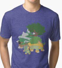 Turtwig Evolution Tri-blend T-Shirt