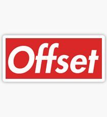 "Supreme Box Logo - ""Offset"" Sticker"