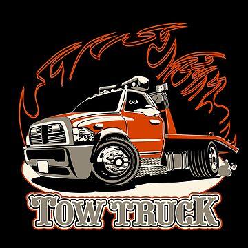 Cartoon tow truck by Mechanick