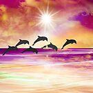 Dolphin Paradise by Peggy Garr