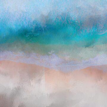 Abstract Ocean art by TAZUZU