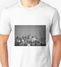 Empire State Building from Brooklyn Bridge Unisex T-Shirt