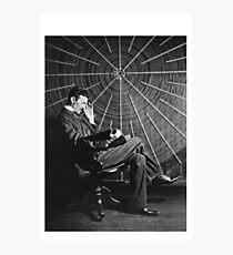 Tesla Classic Design Photographic Print