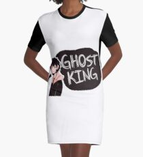 ghost king Graphic T-Shirt Dress