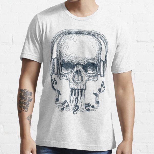 SKULL LINE MUSIC Essential T-Shirt
