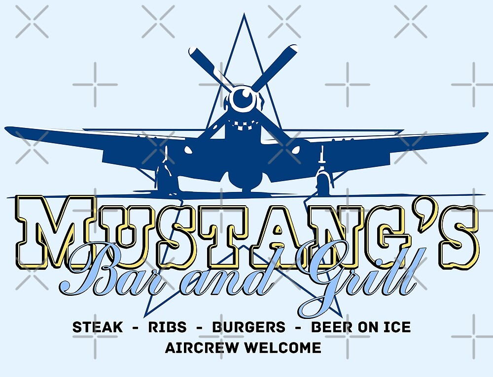 Mustang's Bar and Grill by Chris Jackson