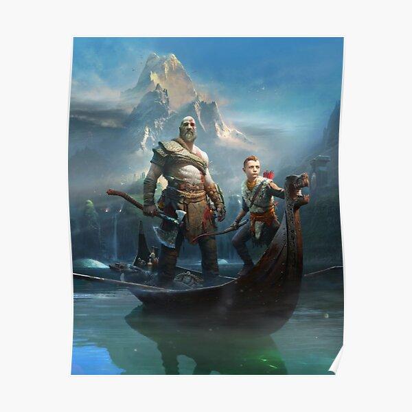 God of War - Kratos and Atreus Poster