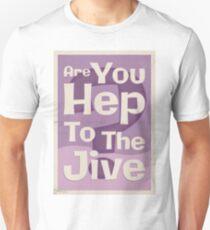 Lindy Lyrics - Are You Hep To The Jive? Unisex T-Shirt