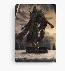 Skyrim Dragon Priest Fan Art Poster Canvas Print