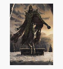 Skyrim Dragon Priest Fan Art Poster Photographic Print