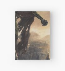 Skyrim Dragon Priest Fan Art Poster Hardcover Journal