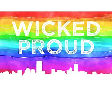 2018 Boston Gay Pride Wicked Proud by Tinkery