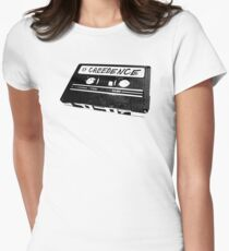 The Big Lebowski Creedence Tape (CCR) Women's Fitted T-Shirt