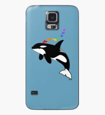 Rainbow orca Case/Skin for Samsung Galaxy
