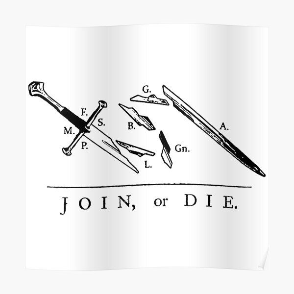 Join or Die // Fellowship of the Ring Poster