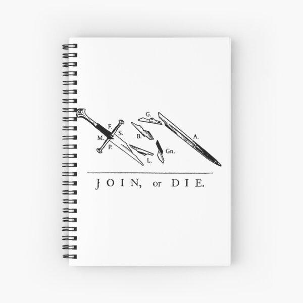 Únete o muere // Hermandad del Anillo Cuaderno de espiral