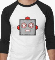 Robot Head Men's Baseball ¾ T-Shirt