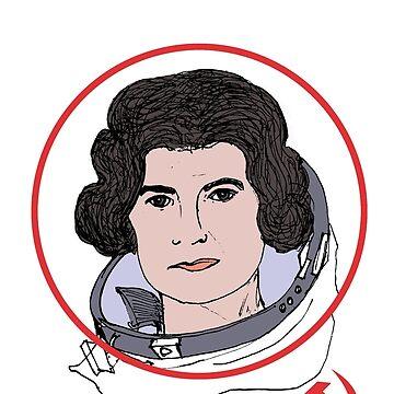 Valentina Tereshkova by KosmonautLaika