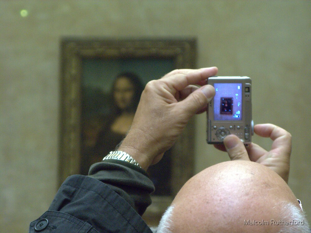 Mona Lisa viewed by Malcolm Rutherford