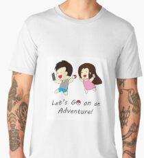 Pokemon GO Couple Men's Premium T-Shirt