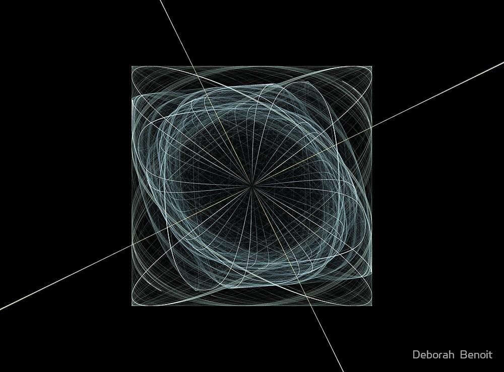 Blue Cube by Deborah  Benoit