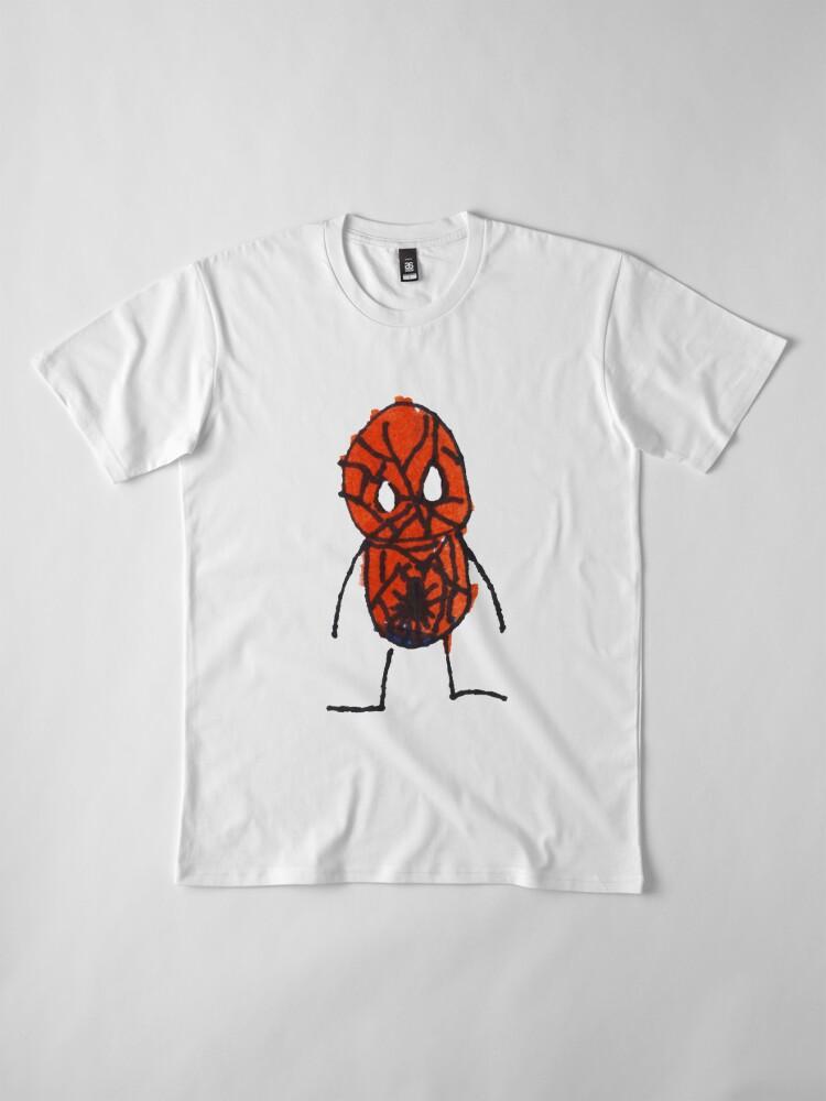 Vista alternativa de Camiseta premium Superhéroe 3