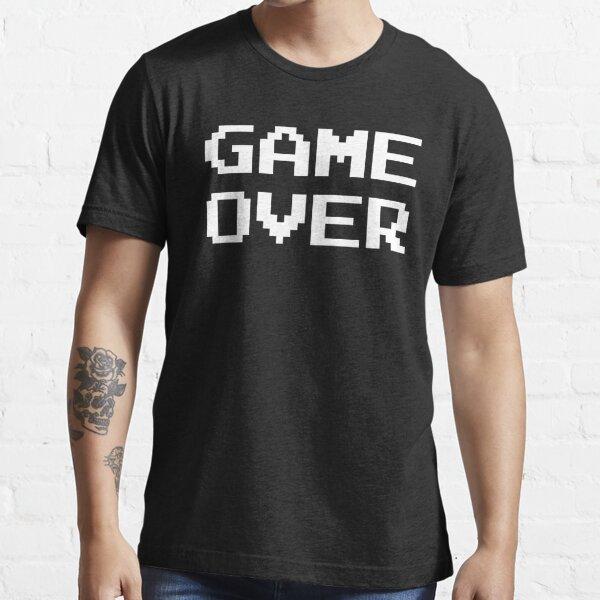 GAME OVER Arcade Retro Game Essential T-Shirt