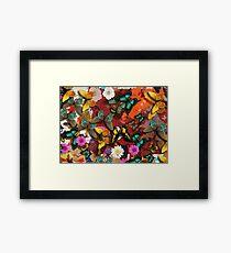 The Butterflies Framed Print