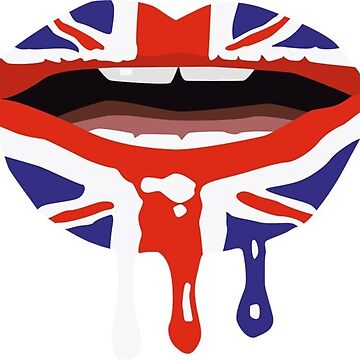 British Lips Brit Kiss by connor95