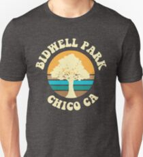 Bidwell Park - Chico Ca Vintage Inspired Slim Fit T-Shirt