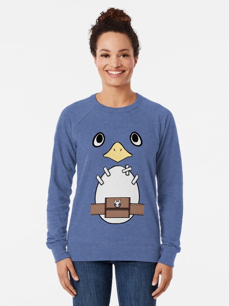Alternate view of Be a Prinny, Dood! Lightweight Sweatshirt