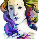 Love (after Botticelli's Venus) by Oleg Atbashian