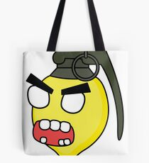 angry zombie combustible lemon Tote Bag