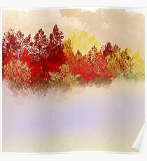 The Red Trees Poster