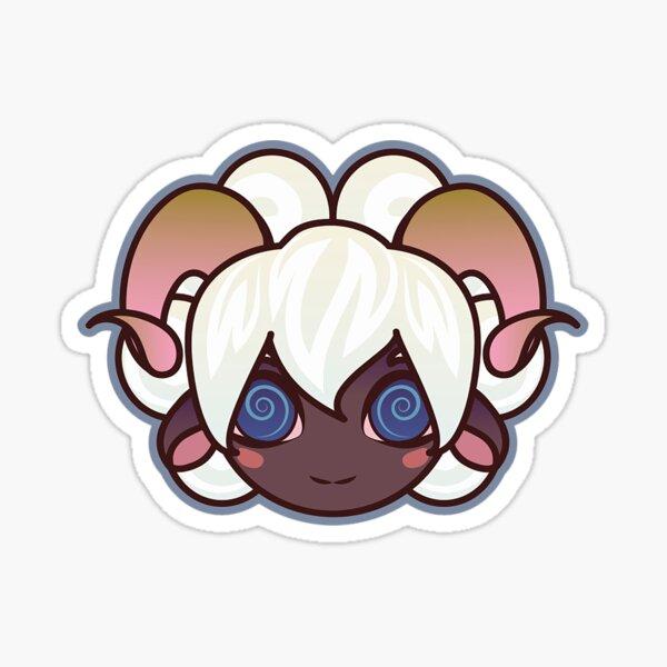 Sheep Girl  Sticker