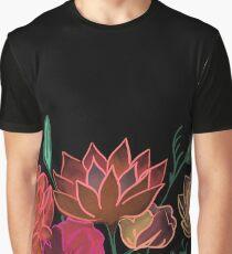 Neon Florals Graphic T-Shirt